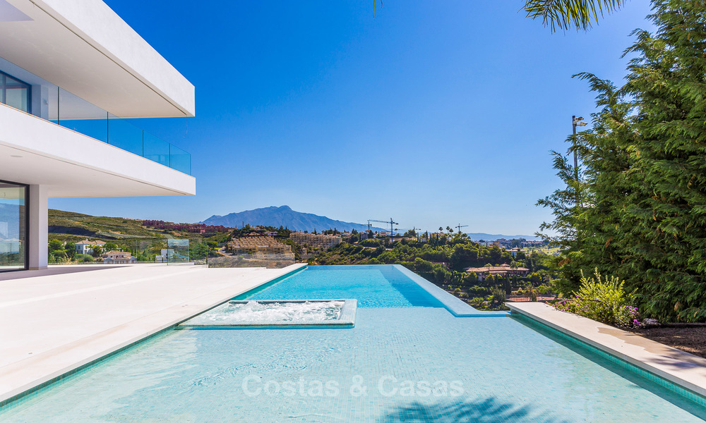 Majestic modern villa with panoramic sea views for sale, front-line golf, Benahavis - Marbella 6864
