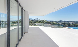 Majestic modern villa with panoramic sea views for sale, front-line golf, Benahavis - Marbella 6837