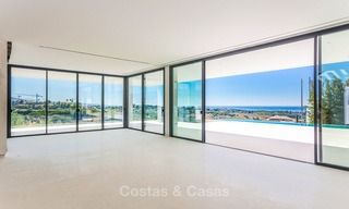 Majestic modern villa with panoramic sea views for sale, front-line golf, Benahavis - Marbella 6840