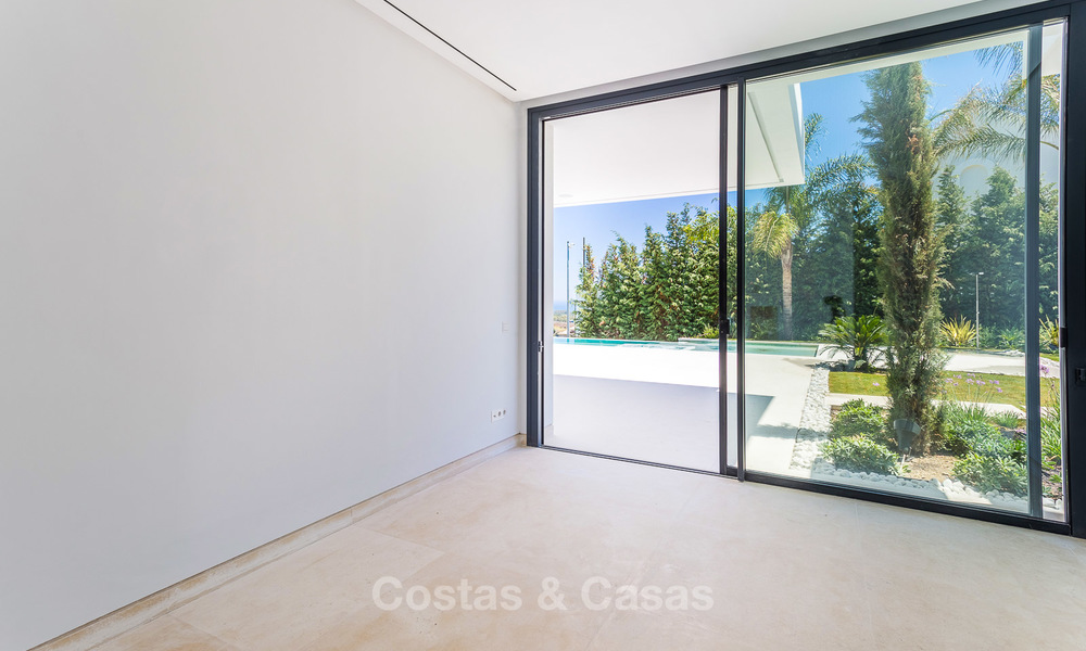 Majestic modern villa with panoramic sea views for sale, front-line golf, Benahavis - Marbella 6841