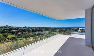 Majestic modern villa with panoramic sea views for sale, front-line golf, Benahavis - Marbella 6842