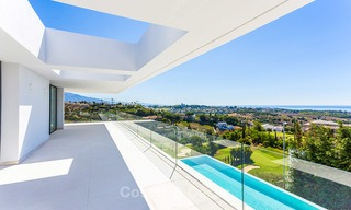 Majestic modern villa with panoramic sea views for sale, front-line golf, Benahavis - Marbella 6843