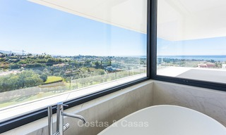 Majestic modern villa with panoramic sea views for sale, front-line golf, Benahavis - Marbella 6847