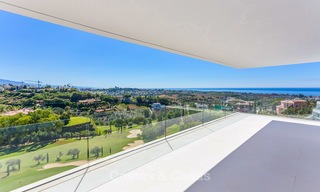 Majestic modern villa with panoramic sea views for sale, front-line golf, Benahavis - Marbella 6849
