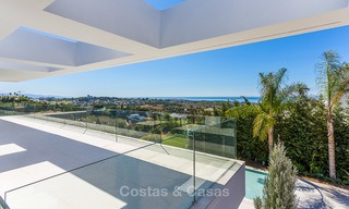 Majestic modern villa with panoramic sea views for sale, front-line golf, Benahavis - Marbella 6853