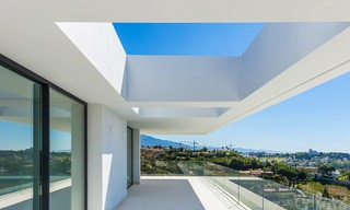 Majestic modern villa with panoramic sea views for sale, front-line golf, Benahavis - Marbella 6854
