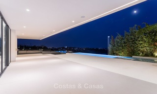 Majestic modern villa with panoramic sea views for sale, front-line golf, Benahavis - Marbella 6876