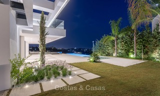 Majestic modern villa with panoramic sea views for sale, front-line golf, Benahavis - Marbella 6878