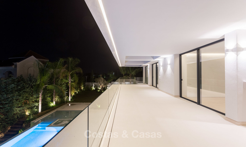 Majestic modern villa with panoramic sea views for sale, front-line golf, Benahavis - Marbella 6870