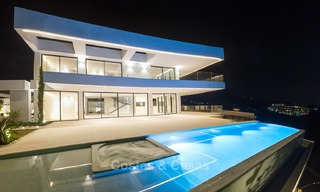 Majestic modern villa with panoramic sea views for sale, front-line golf, Benahavis - Marbella 6874