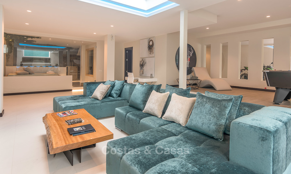 Sumptuous new built designer villa for sale in an exclusive gated urbanisation, Benahavis - Marbella 6884