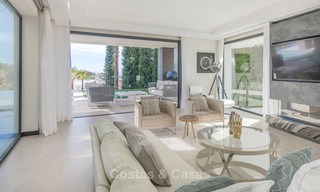 Sumptuous new built designer villa for sale in an exclusive gated urbanisation, Benahavis - Marbella 6894