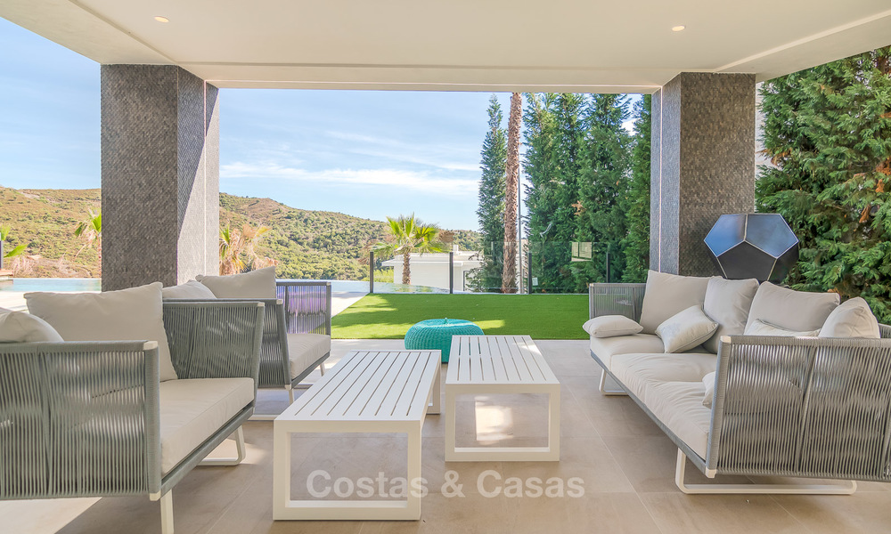 Sumptuous new built designer villa for sale in an exclusive gated urbanisation, Benahavis - Marbella 6897