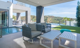 Sumptuous new built designer villa for sale in an exclusive gated urbanisation, Benahavis - Marbella 6898