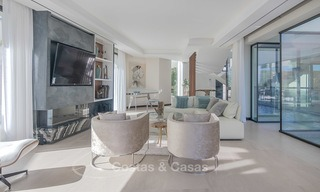 Sumptuous new built designer villa for sale in an exclusive gated urbanisation, Benahavis - Marbella 6899