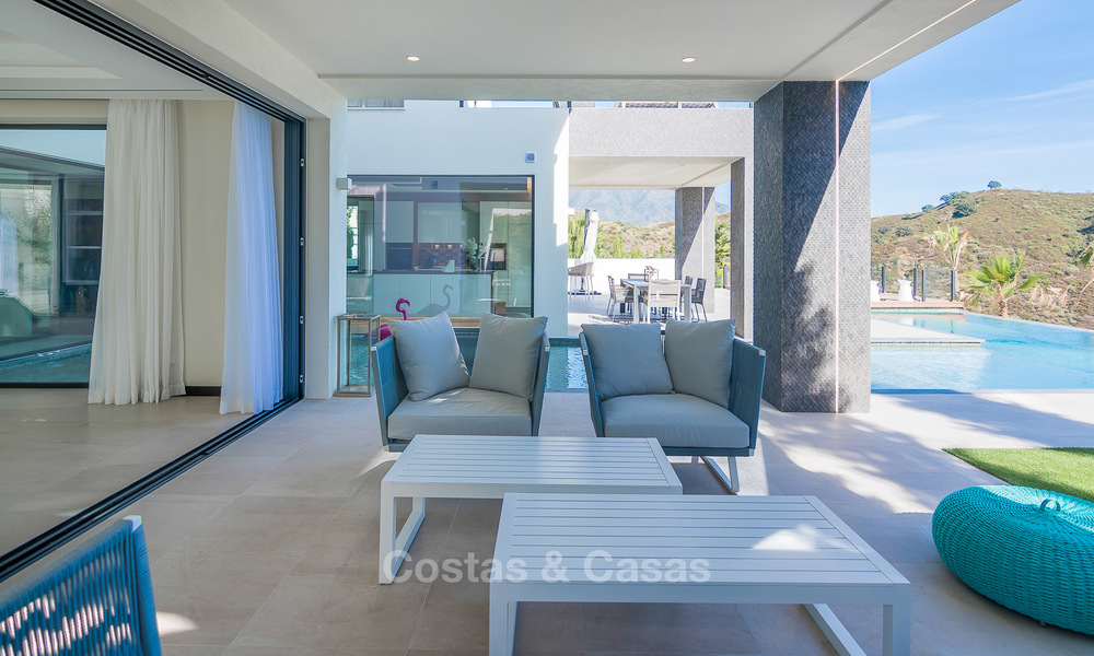Sumptuous new built designer villa for sale in an exclusive gated urbanisation, Benahavis - Marbella 6900
