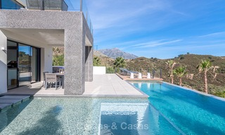 Sumptuous new built designer villa for sale in an exclusive gated urbanisation, Benahavis - Marbella 6901