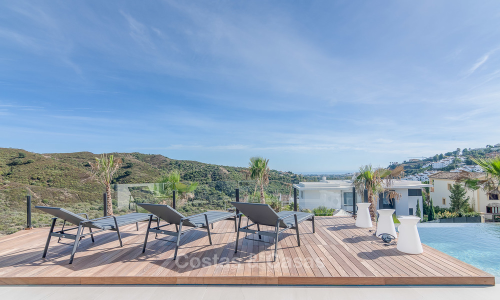 Sumptuous new built designer villa for sale in an exclusive gated urbanisation, Benahavis - Marbella 6902