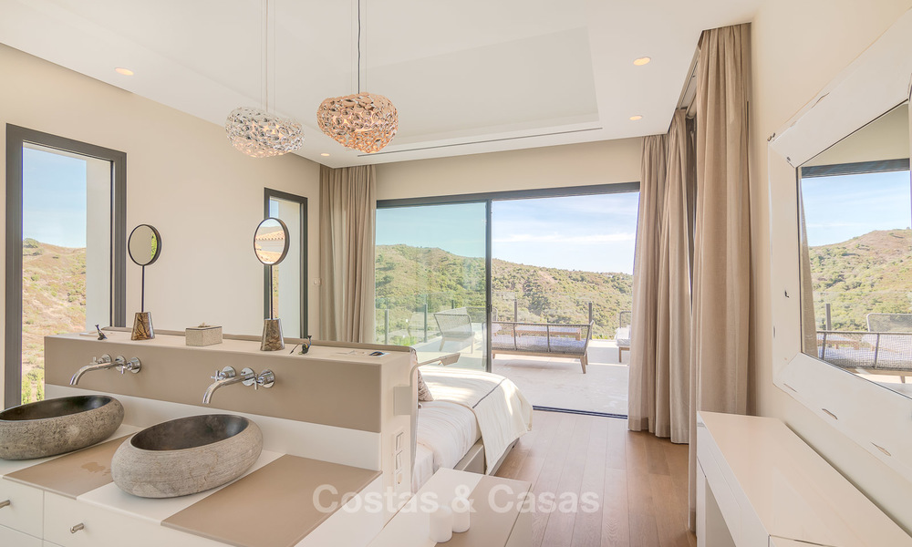 Sumptuous new built designer villa for sale in an exclusive gated urbanisation, Benahavis - Marbella 6905