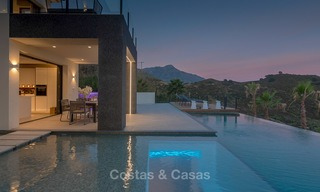 Sumptuous new built designer villa for sale in an exclusive gated urbanisation, Benahavis - Marbella 6934