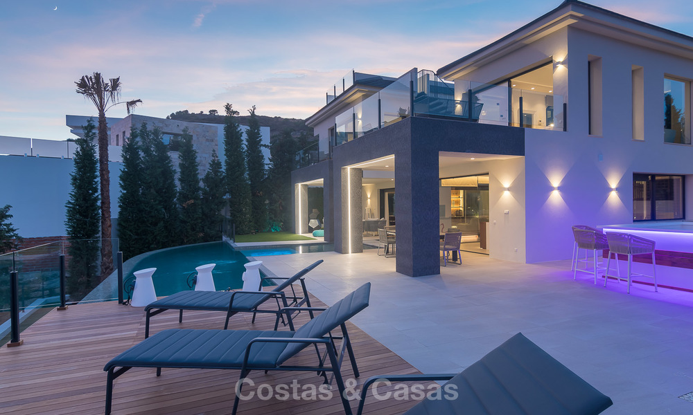 Sumptuous new built designer villa for sale in an exclusive gated urbanisation, Benahavis - Marbella 6935