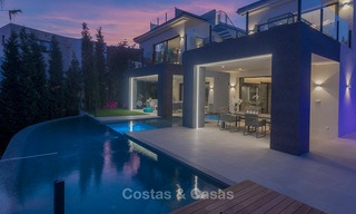 Sumptuous new built designer villa for sale in an exclusive gated urbanisation, Benahavis - Marbella 6937