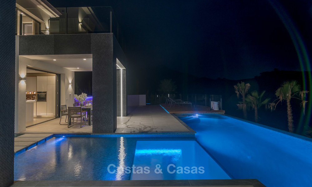 Sumptuous new built designer villa for sale in an exclusive gated urbanisation, Benahavis - Marbella 6941