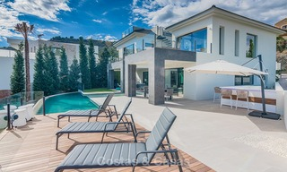 Sumptuous new built designer villa for sale in an exclusive gated urbanisation, Benahavis - Marbella 6943