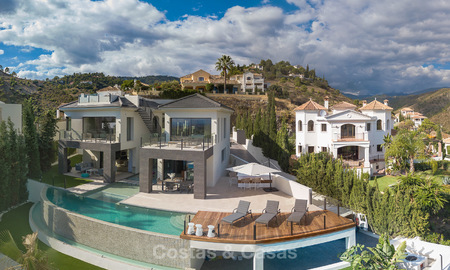 Sumptuous new built designer villa for sale in an exclusive gated urbanisation, Benahavis - Marbella 6944