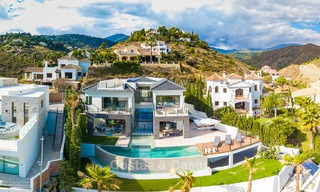 Sumptuous new built designer villa for sale in an exclusive gated urbanisation, Benahavis - Marbella 6945