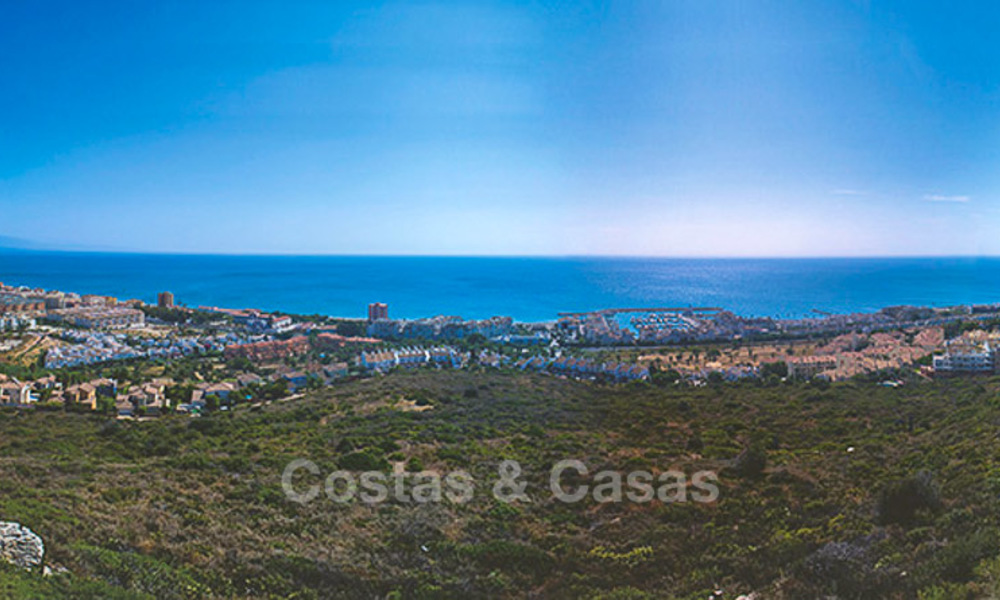 Attractive new apartments with sea and golf views for sale, walking distance to the beach, Manilva - Costa del Sol 7074