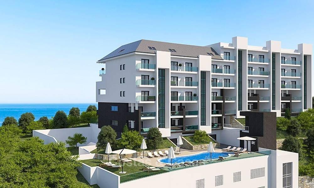 Attractive new apartments with sea and golf views for sale, walking distance to the beach, Manilva - Costa del Sol 7076