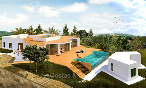 Huge plot of land for sale at a spectacular, prime location - Golden Mile - Marbella 6978