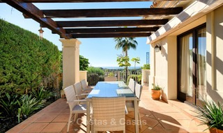 Charming and spacious classical style villa with sea views for sale, gated community, Benahavis - Marbella 7113