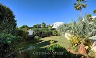 Charming and spacious classical style villa with sea views for sale, gated community, Benahavis - Marbella 7119