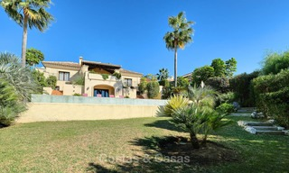 Charming and spacious classical style villa with sea views for sale, gated community, Benahavis - Marbella 7120