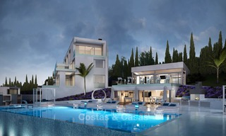 Brand new modern apartments with sea views for sale in a luxury boutique golf resort - La Cala, Mijas, Costa del Sol 7126