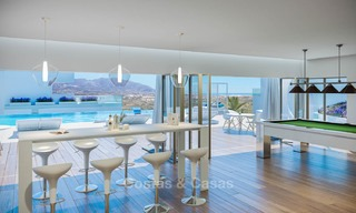 Brand new modern apartments with sea views for sale in a luxury boutique golf resort - La Cala, Mijas, Costa del Sol 7127