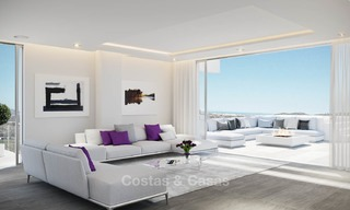 Brand new modern apartments with sea views for sale in a luxury boutique golf resort - La Cala, Mijas, Costa del Sol 7130