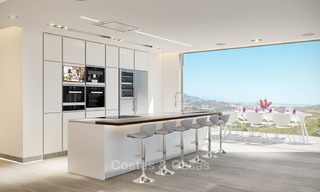 Brand new modern apartments with sea views for sale in a luxury boutique golf resort - La Cala, Mijas, Costa del Sol 7131