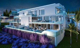 Brand new modern apartments with sea views for sale in a luxury boutique golf resort - La Cala, Mijas, Costa del Sol 7133