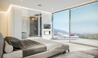 Brand new modern apartments with sea views for sale in a luxury boutique golf resort - La Cala, Mijas, Costa del Sol 7135