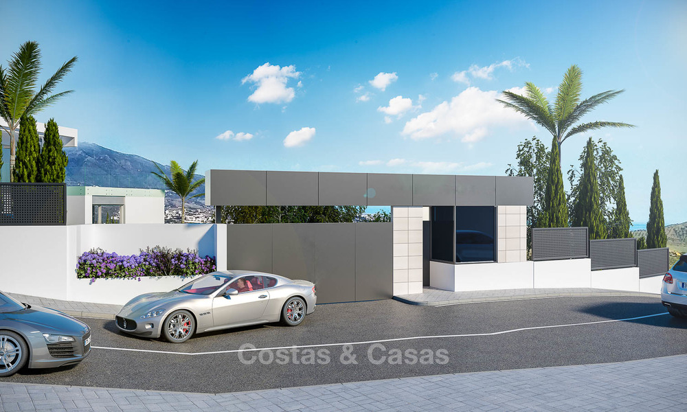 Brand new modern apartments with sea views for sale in a luxury boutique golf resort - La Cala, Mijas, Costa del Sol 7138