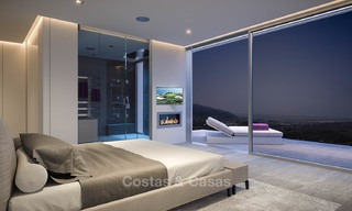 Brand new modern apartments with sea views for sale in a luxury boutique golf resort - La Cala, Mijas, Costa del Sol 7141