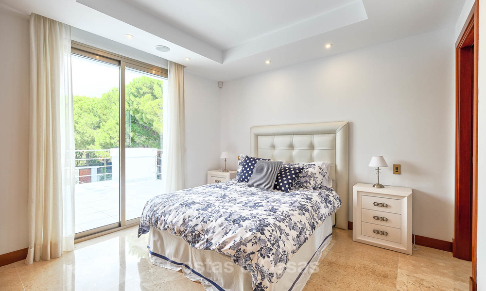 Spacious top-quality new villa for sale, ready to move in, Marbella East 7166