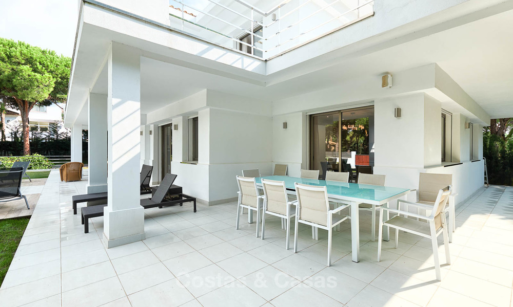 Spacious top-quality new villa for sale, ready to move in, Marbella East 7187