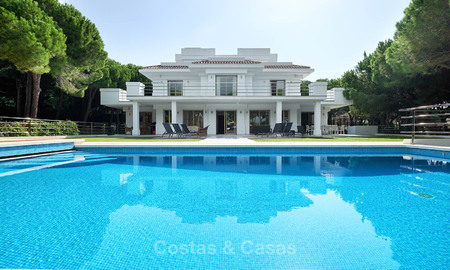 Spacious top-quality new villa for sale, ready to move in, Marbella East 7190