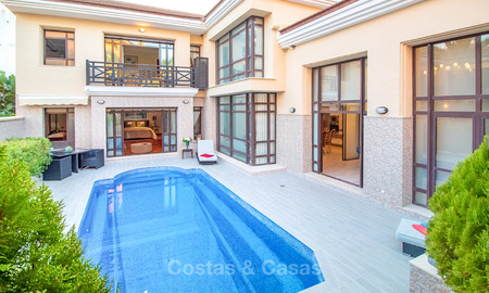 Marvellous and luxurious beachside townhouse for sale in Puerto Banus, Marbella 7230