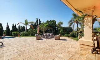 Magnificent rustic-style luxury villa with breath-taking sea and mountain views - Golf Valley, Nueva Andalucia, Marbella 7244