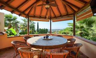 Magnificent rustic-style luxury villa with breath-taking sea and mountain views - Golf Valley, Nueva Andalucia, Marbella 7247